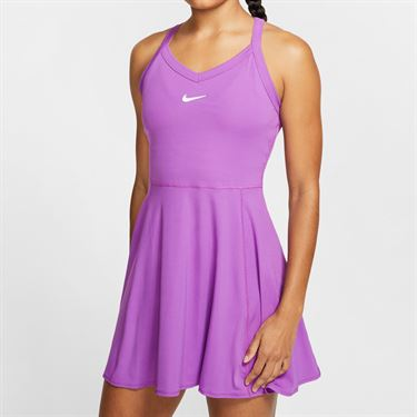Nike Court Dri Fit Dress Womens Purple Nebula/White AV0724 532