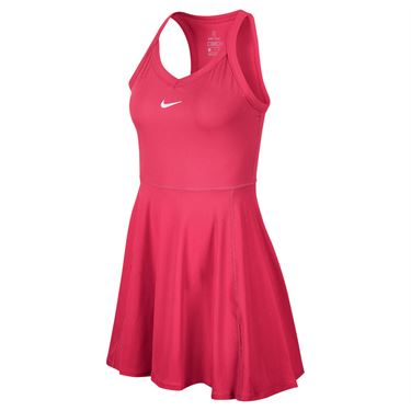 Nike Court Dri Fit Dress Womens Vivid Pink/White AV0724 616