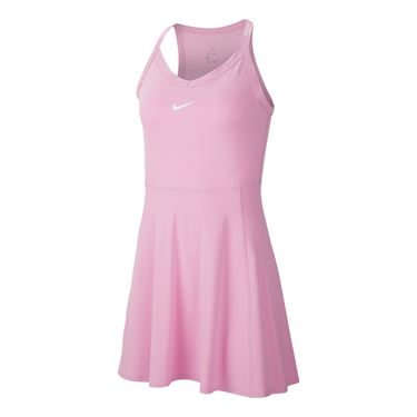 Nike Court Dri Fit Dress Womens Pink Rise/White AV0724 629