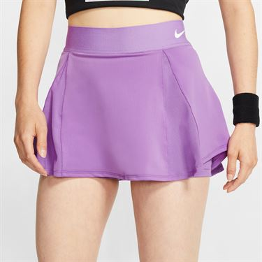 Nike Court Skirt Womens Purple Nebula/White AV0731 532