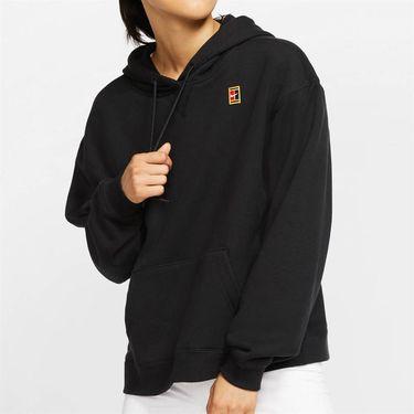 Nike Court Hoodie Womens Black AV0766 010