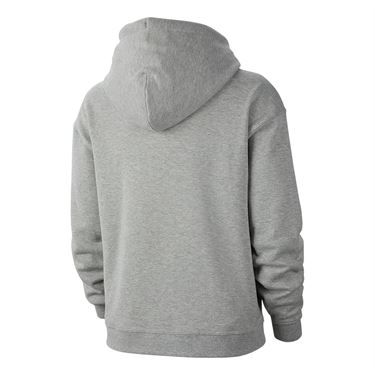 Nike Court Hoodie Womens Dark Grey Heather AV0766 063