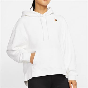 Nike Court Hoodie - White | Midwest Sports
