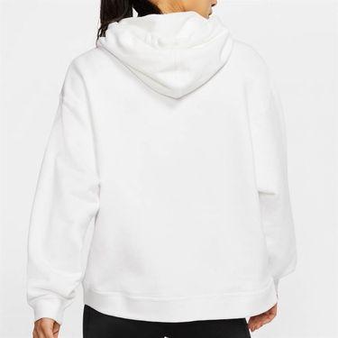 Nike Court Hoodie Womens White AV0766 100