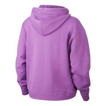 Nike Court Hoodie Womens Purple Nebula AV0766 532