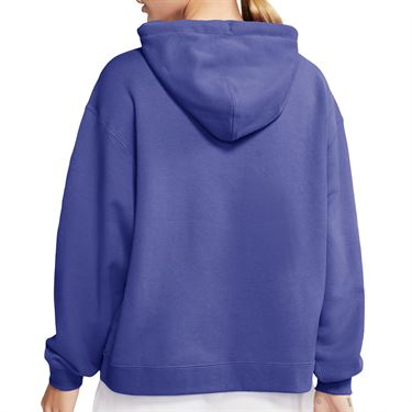 Nike Court Hoodie Womens Rush Violet/White AV0766 554