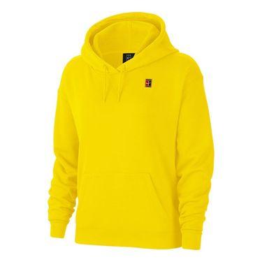 Nike Court Hoodie Womens Opti Yellow AV0766 731