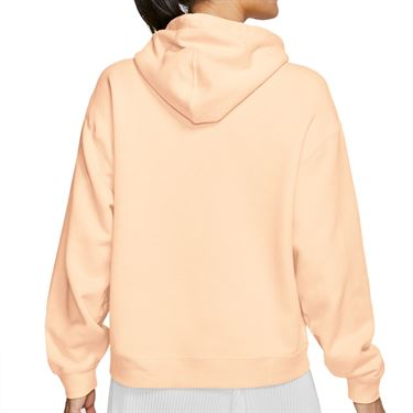 Nike Court Hoodie Womens Rush Guava Ice/White AV0766 838