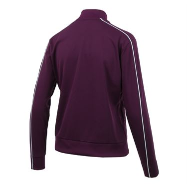 Nike Court Warm Up Jacket - Bordeaux/White