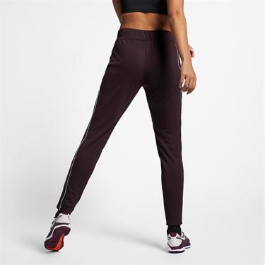 Nike Court Warm Up Pant - Burgundy Ash/White