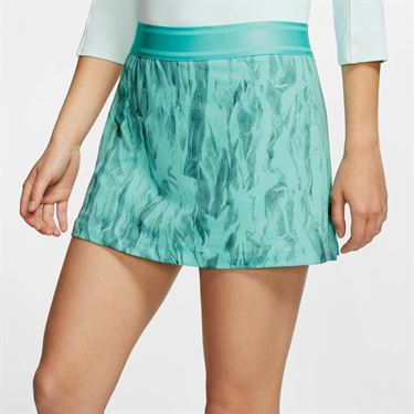 Nike Court Printed Skirt - Light Aqua