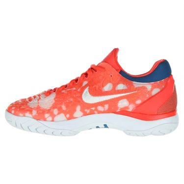 finest selection 4abbb b8a13 ... Nike Court Air Zoom Cage 3 Premium Womens Limited Edition Tennis Shoe -  Bright Crimson