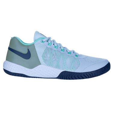 Nike Court Flare 2 Womens Tennis Shoe Football Grey/Midnight Navy AV4713 004
