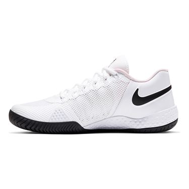 Nike Court Flare 2 Womens Tennis Shoe White/Black/Pink Foam AV4713 105