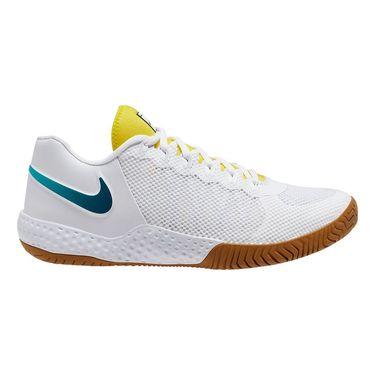 Nike Court Flare 2 Womens Tennis Shoe White/Valerian Blue/Oracle Aqua AV4713 107