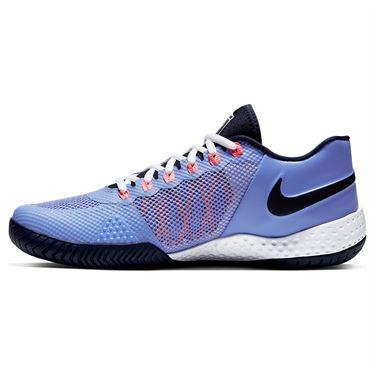 Nike Court Flare 2 Womens Tennis Shoe Royal Pulse/Obsidian/Sunblush/White AV4713 406