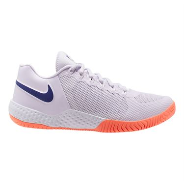 Nike Court Flare 2 Womens Tennis Shoe Barely Grape/Regency Purple/Bright Mango AV4713 502