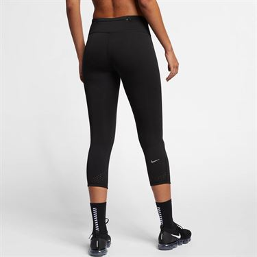 Nike Epic Lux Crop Tight - Black/Reflective Silver