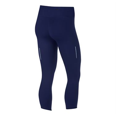 Nike Epic Lux Crop Tight - Blue Void/Reflective Silver