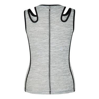 Tail Core Double Strap Tank - Cool Grey