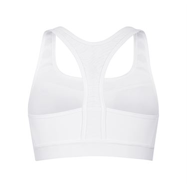 Tail Core Compression Bra - White