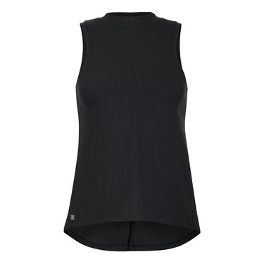 Tail Core Split Hem Tank - Black