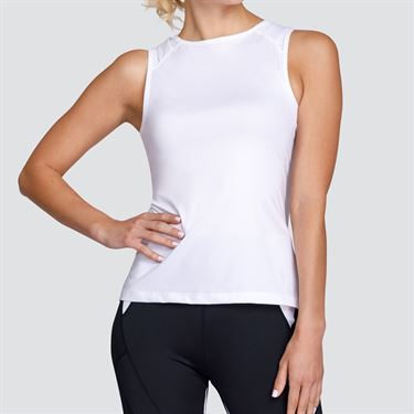 Tail Core Sleeveless Tank - White