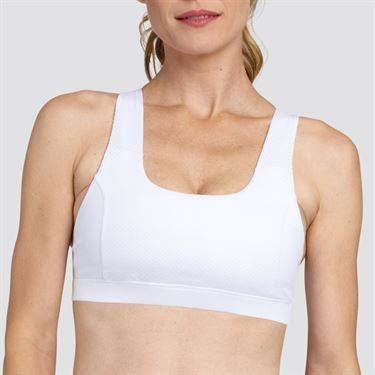 Tail Core Criss Cross Athleisure Bra - Chalk