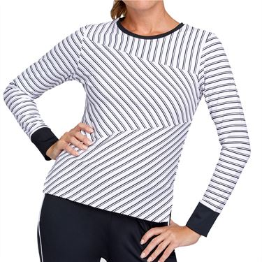 Tail Core Eustacia Long Sleeve Top Womens Infinity Stipe AX2767 L01X
