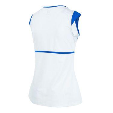 Eleven Aztec Volley Cap Sleeve - White
