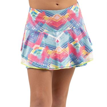 Lucky in Love Mad About Plaid Girls Plaid About You Skirt Multi Print B100 B04955