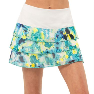 Lucky in Love Peace Out Girls Mesh Skirt Opal B101 C30470