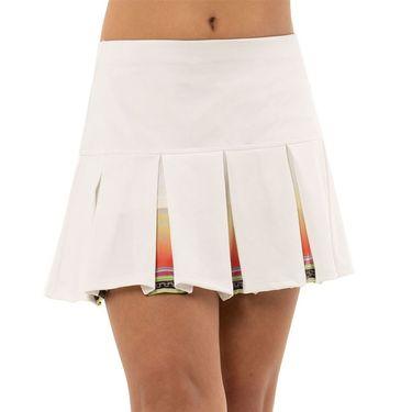 Lucky in Love Rockin Rococo Girls Rococo Box Pleat Skirt White B110 C17110