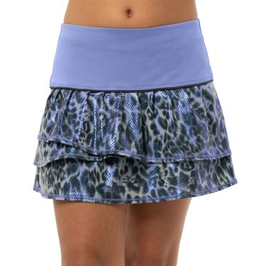 Lucky in Love On The Prowl Girls Prowl Pleat Tier Skirt Ice B111 417