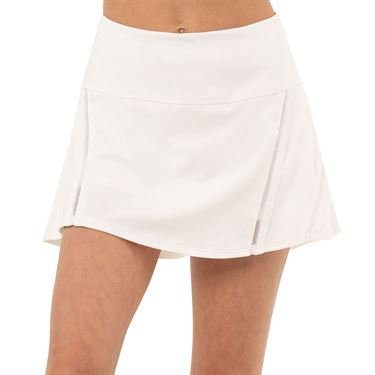 Lucky in Love Peace Out Girls Mini Inline Skirt White B112 110
