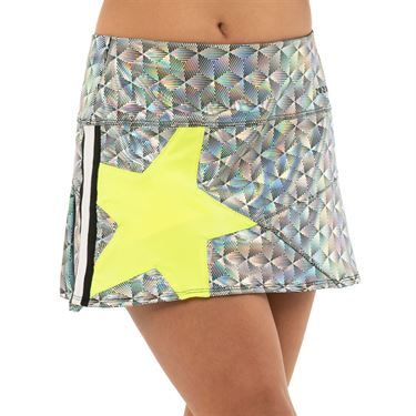 Lucky in Love Girls 10th Anniversary Mini Pop Star Skirt Black Iridescent B113 981