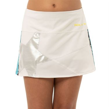 Lucky in Love 10th Anniversary Girls Mini Shining Star Skirt White B114 C73110