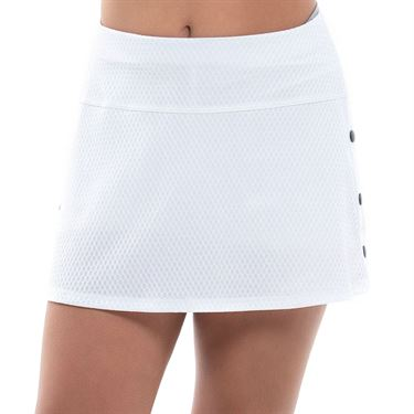 Lucky in Love Techno Tropic Girls Breakaway Skirt White B116 120