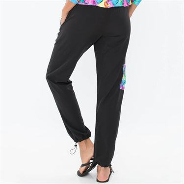 Bluefish Hearts Lovin Cargo Pant - Black/Heart