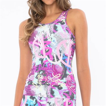 Blue Fish Peace Alchemy Cami - Peace Print/Grey