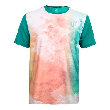 Athletic DNA Boys Mesh Back Ventilator Crew Color Run