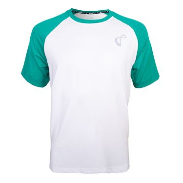 Athletic DNA Boys Legend Training Crew White/Spearmint