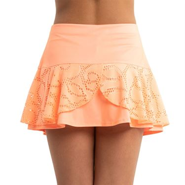 Lucky in Love Eyelet Go Girls Lace Flounce Skirt