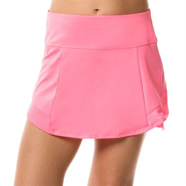 Lucky in Love Mad About Plaid Girls Cross Trainer Skirt Schocking Pink B84 641
