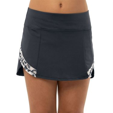 Lucky in Love On The Prowl Girls Party Animal Trainer Skirt Charcoal B84 C45040