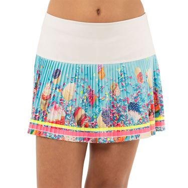 Lucky in Love Novelty Girls Cupcake Pleated Skirt Multi B96 D25955