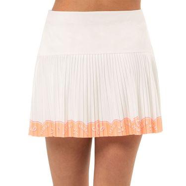 Lucky in Love Eyelet Go Girls Eyelet Pleated Skirt