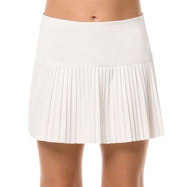 Lucky in Love Core Girls Pleated Skirt - White