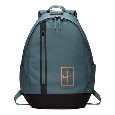 Nike Court Advantage Tennis Backpack - Aviator Grey/Thunder Grey/Fuel Orange