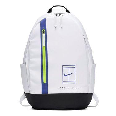 Nike Court Advantage Tennis Backpack - White/Black/Rush Violet